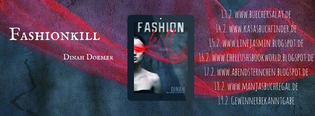 [Rezension] Fashionkill von Dinah Doemer + Blogtourankündigung