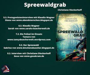 [Blogtour] Spreewaldgrab - Interview mit Klaudia Wagner