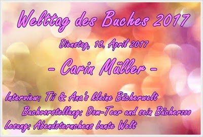 [Aktion] #WtB Tag 18 Lesung mit Carin Müller