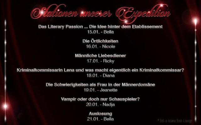 [Blogexpedition] Tag 4 zu Literary Passion von Vanessa Carduie